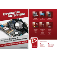 Pro-jex Prospekt: &quot;Notebook Reparatur&quot;