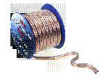 Lautsprecherkabel 2 x 0,75 mm, transparent-blau, 10 m lang
