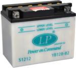 Landport YB12B-B2 Motorrad Batterie, 12 V 12 AH