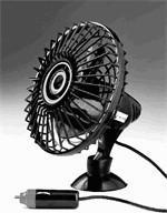 Mini-Ventilator für unterwegs mit 12 Volt Anschluss