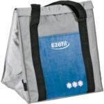 EZetil ESC32 Elektro-Kühltasche, ca. 32 Liter Kühlraum, silber/blau, 12V