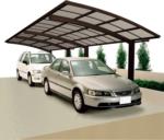Ximax Carport »Portoforte 110 Tandem« Mattbraun