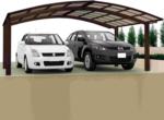 Ximax Carport »Portoforte 110 M-Ausführung« Mattbraun