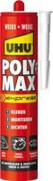UHU POLY MAX express, Montagekleber weiß, 425 g Kartusche