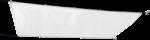 Seilspannmarkise weiß