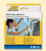 Schellenberg Befestigungsband für Fliegengitter weiß