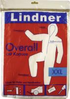 Lindner Maleroverall mit Kapuze, Größe XXL