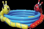 Royalbeach Double Splash Planschbecken »Worm«