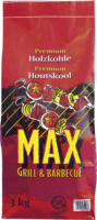 Max Grill & Barbecue Holzkohle 3 kg