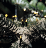 Konstsmide Microlichterkette, 120 Birnen
