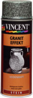 Vincent Granit Effekt seidenmatt schwarz 400 ml