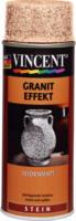 Vincent Granit Effekt seidenmatt lachsrot 400 ml