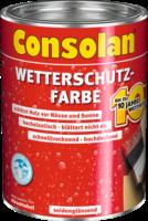 Consolan Wetterschutz-Farbe schwedenrot