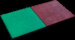 Karibu Fallschutzmatten, grün, VPE 1 Stück