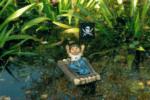 Ubbink Zwerg sitzend auf Floß