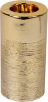 »Kerzenhalter« Gold, rund
