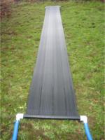Solarkollektor 61x610cm für Schwimmbadpumpen