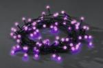Konstsmide LED Lichterkette, 80 LED purpur