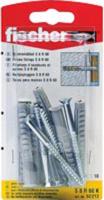 Fischer Rahmendübel SXR8x60ZK mit Schraube