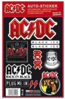 """""""AC/DC"""" Auto-Sticker, 1 Bogen"""