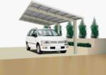 Ximax Carport »Linea 170« Edelstahl-Look