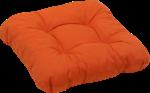 GO-DE Sitzkissen »Dessin 11503«, orange