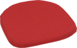 GO-DE Sitzkissen »Janina Rustico« 42x42 cm, rot