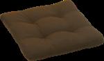 GO-DE Sitzkissen »Carina Rustico« 38x38 cm, braun