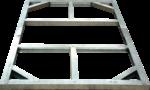 Tepro Metall-Unterkonstruktion »Riverton 6x4«