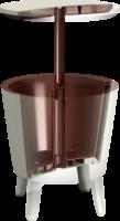 Tepro Partytisch »Cool Bar« mit integrierter Eisbox, creme