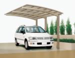 Ximax Carport »Portoforte 60« Edelstahl-Look
