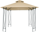 Haveson Pavillon »Promotion Gazebo« beige, 3x3x3 m