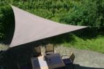 GO-DE Sonnensegel »Taupe« 3 m