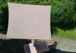 GO-DE Sonnensegel »Taupe« Quadratisch 3,6 m