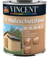 Vincent 2in1 Holzschutzlasur Lösungsmittelhaltig