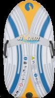 Royalbeach Wassermatratze u. Winterschlitten »Surfer & Slide«