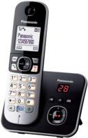 KX-TG6821GB Schnurlostelefon mit Anrufbeantworter schwarz
