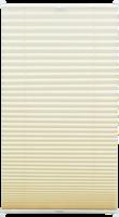 Gardinia Plissee »Easyfix« mit 2 Bedienschienen, 50x130 cm creme (elfenbein)