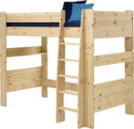 ROLLER Hochbett FOR Kids - Massivholz Kiefer - 90x200 cm