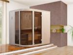 Weka Design-Sauna »514 GT Gr.1 OS« 68 mm, 7,5 kW Ofen