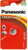 Panasonic Cell Power Alkali Micro Knopfzelle LR44L/1BP, 1,5 V, 1 Stück