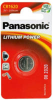 Panasonic Lithium Power Knopfzelle CR1620L/1BP, 3 V, 1 Stück