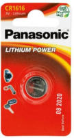 Panasonic Lithium Power Knopfzelle CR1616L/1BP, 3 V, 1 Stück