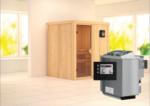 Karibu Sauna »Laurin« 68 mm, Bio-Ofen 9 kW externe Strg.