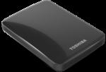 1TB Toshiba Canvio Basics USB3.0 & 2.0 externe Festplatte, schwarz
