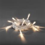 Konstsmide LED Lichterkette, 30 warm weiße LED