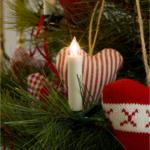 Konstsmide Christbaumkerzen 5 kleine kabellose Kerzen, Erweiterung 5er Set