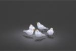 Konstsmide Acryl Vögel, 5er Set