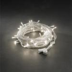 Konstsmide LED Hightech 24V System Lichterkette, 100 warmweiße LEDs
