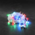 Konstsmide LED Hightech 24V System Lichterkette, 100 bunte LEDs
